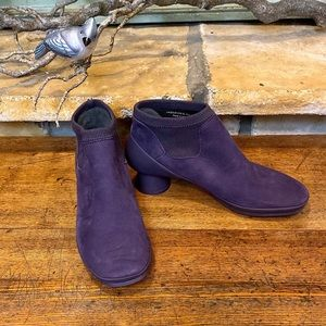 Camper Alright Purple Ankle Boots